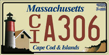 Plaque d'immatriculation américaine Massachusetts (Cape Cod & Islands)