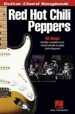 RED HOT CHILI PEPPERS GUITAR CHORD SONGBOOK