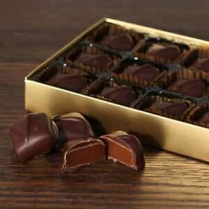 Premium Hand Made Dark Chocolate Caramels - 15 Chocolates 185g℮ Gift Box