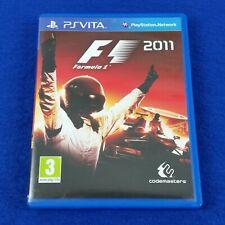 PS VITA F1 2011 Formula One Game REGION FREE (Works On NTSC) PAL English PSVITA