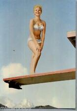 PIN UP Girl Sexy Bikini Beach PC Circa 1960s Real Photo Ragazza in Bikini 16