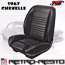 "1967 Chevelle - ""Sport R"" Seat Upholstery [Coupe/Convertible] Full-Set F/R"