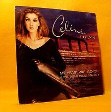 "Cardsleeve single CD Celine Dion My Heart Will Go On 2TR 1997 Ballad ""Titanic"""