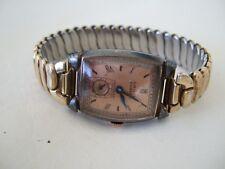 1945 Gruen Curvex Precision Wadsworth GF wrist watch – works