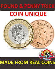 COIN UNIQUE NEW £1 COIN VERSION - 12 SIDED NEW POUND COIN CLOSE UP MAGIC TRICK