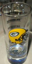 GREEN BAY PACKERS NFL BIG DOUBLE SHOT GLASS NEW!