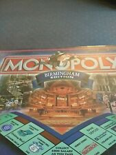 MONOPOLY Board Game BIRMINGHAM Edition. New sealed. Sold For Charity.