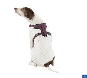 Top Paw Ultra Reflective Large Dog Harness - Purple