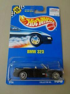 Hot Wheels Blue Card #150 Black BMW 323 Ultra Hots Speed Points