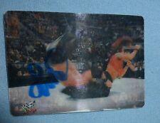 Lita Signed 2001 WWF Artbox MotionCardz Card #20 WWE Autograph Wrestling Diva 01