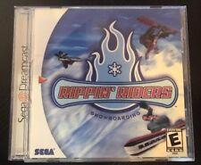 Rippin' Riders Snowboarding - ( Sega Dreamcast ) Complete W/box & Manual !