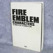 FIRE EMBLEM Sword of Seal Flame Characters w/CD Art Book VJ69*