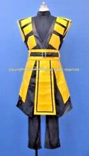 Mortal Kombat Ninja Scorpion Cosplay Costume Size M