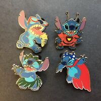 Stitch Booster Set 4 Pin Set Disney Pin 106352