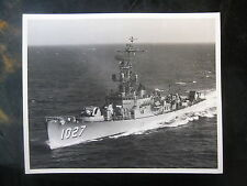 Vintage US Navy 8 x 10 Press Photo USS John Willis DE-1027 1965 Newport, RI 720