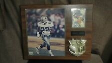 1994 Emmitt Smith Plaque with 8x10 Picture & Frontier Card