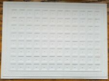 Dollhouse Miniature Ceiling Paper Embossed Textured Foam Board 1:12 Scale 34945