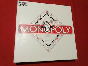 Parker Monopoly, alte quadratische Ausgabe, DM, komplett, guter Zustand