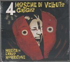 ENNIO MORRICONE 4 MOSCHE DI VELLUTO GRIGIO CD DIGIPACK SIGILLATO!!!
