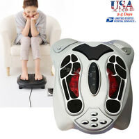 USA Comfort Electromagnetic Wave Pulse Circulation Foot Massager Booster Health
