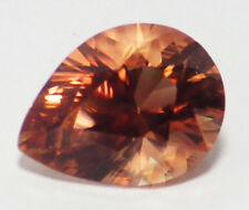 OREGON SUNSTONE INTENCE ORANGE PEACH WITH RASPBERRY FLASHES 3.61 CT SEE VIDEO
