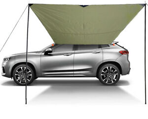 Car Shelter Shade Camping Side Car Roof Top Tent Awning Waterproof UV Portable