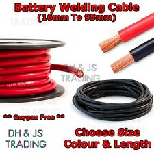 Flexible PVC Battery Welding Cable OFC Black & Red 110A - 500A (16mm - 95mm)