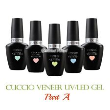 CUCCIO Veneer PART A Soak Off UV LED Gel Nail Colour Polish Lacquer 13 mL/0.43oz
