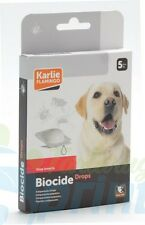 BIOCIDE pipettes chiens de 5 pesticide pour les contre puces et se place