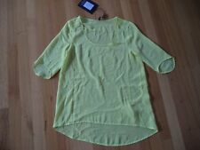 LUXE DELUXE CRUISER SLEEVE CITRUS SILK TUNIC SIZE 12 BRAND NEW WITH TAGS $219