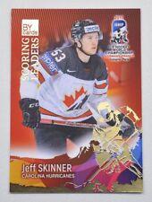 2017 BY cards IIHF WC Scoring Leaders #14 Jeff Skinner #/20