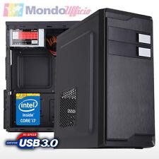 PC Computer Desktop Intel i7 7700 3,60 Ghz - Ram 8 GB 2400 Mhz - SSD 120 GB