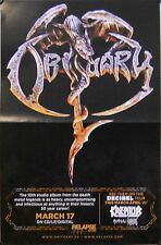 OBITUARY/THE OBSESSED POSTER (R12)