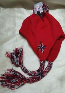 BNWT Star Nor Red Hat. Norwegian Clothing