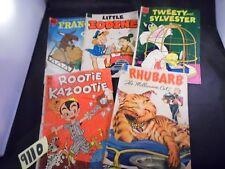 Lot of 5 Dell Comics Assorted Titles in Description