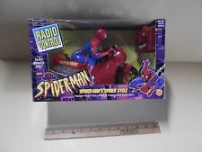 Spider-man Marvel Comics Radio Control Spider Cycle Toy Biz 1995