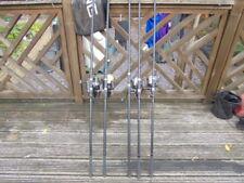 5X Fox Warrior S Carp Rods with Reels, Daiwa, NGT, TF GEAR 6x Padded Rod Holder