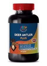 Deer Antler Plus Velvet Extract IncreaseTestosterone Nettle 550mg Boost Libido1B