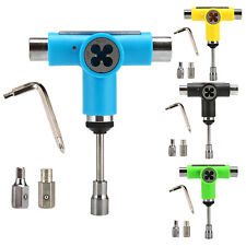 Skateboard Scooter Roller Skate Longboard T Tool Wrench with Small L Spanner