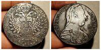 Thaler Austria 1780 Habsburg Silver Coin Maria Theresia Vrty: Milan Vanice 1815