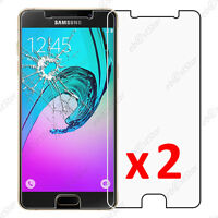 x2 Film Protection écran Verre Trempé Anti Casse Samsung Galaxy A3 2016 A310F