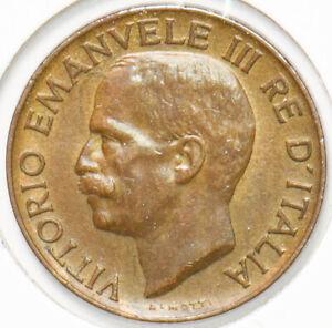 Italy 1926 5 Centesimi Vittorio Emanvele III 293007 combine