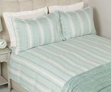 Laura Ashley Duvet Cover Forbury KING Duck Egg Blue Green INC Pillowcases