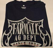 Mens Farmall International Harvester Black t-shirt Sz L