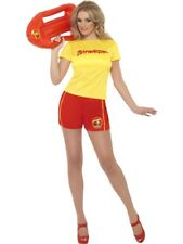 Smiffy's Baywatch Beach Costume With Top and Shorts (s)
