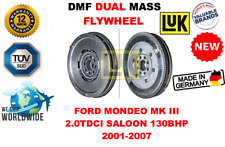 Pour Ford Mondeo Mk III 2.0 TDCI Berline 130BHP 2001-07 Neuf Double Masse Dmf