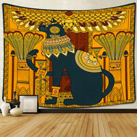 Egyptian Style Tapestry Bohemian Wall Hanging Tapestry Room Decoration Bedspread