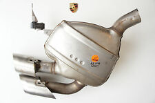 Porsche 95B Macan Nachschalldämpfer L. Auspuff Abgasanlage 95B253611 Au39