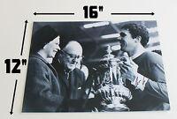 "RON YEATS Liverpool HAND SIGNED 16"" X 12"" Autograph Photo + COA EXACT PROOF"