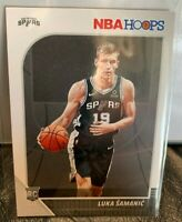 2019-20 Panini NBA Hoops Luka Samanic RC Rookie Card #216 San Antonio Spurs